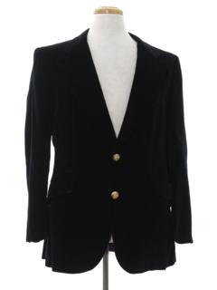 1970's Mens Designer Pucci Disco Blazer Sport Coat Jacket