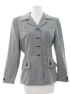 1950's Womens Fab Fifties Jacket
