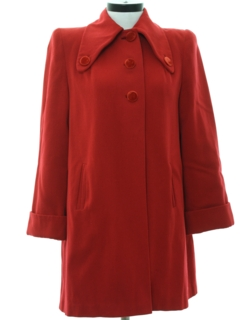 1940's Womens Fabulous 40s Coat Jacket