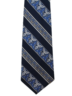 1970's Mens Diagonal Wide Disco Necktie