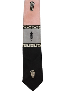 1950's Mens Mod Necktie
