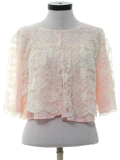 1950's Womens Lingerie Bed Shirt