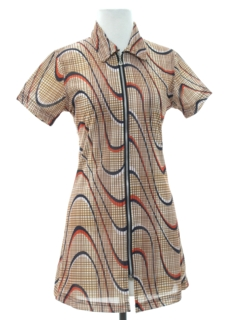 1980's Womens/Girls Mini Dress