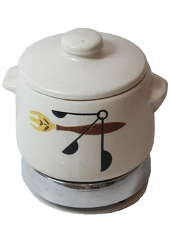 1960's Home Decor - Electric Bean or Fondue Pot