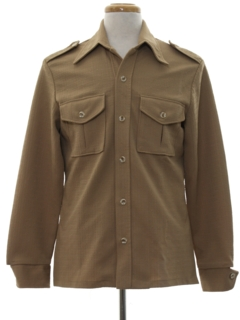 1970's Mens Safari Style Leisure Jacket
