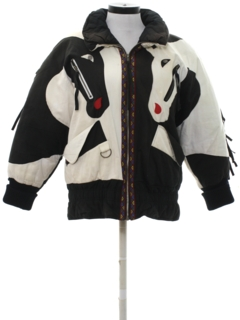 1980's Womens Totally 80s Jacket