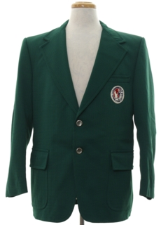 1970's Mens Mod Preppy Blazer Sport Coat Jacket