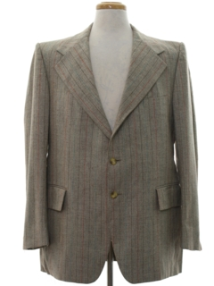 1970's Mens Designer Blazer Sport Coat Jacket