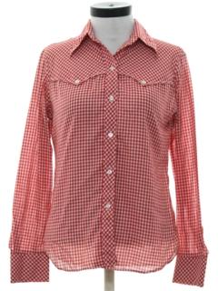 1970's Womens Western Shirt