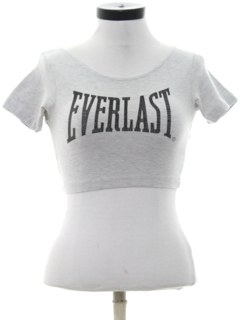 1980's Womens Totally 80s Cropped T-Shirt