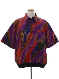 1980's Mens Resort Wear Shirt