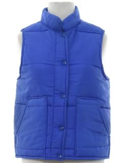 1980's Womens Ski Vest Jacket