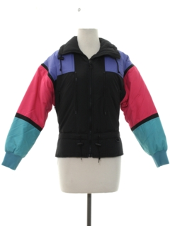 1980's Womens or Girls Totally 80s Ski Jacket