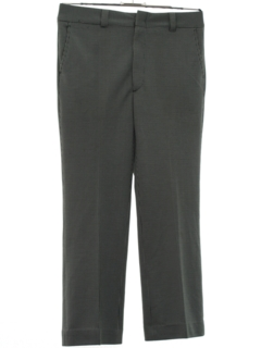 1970's Mens Flared Disco Pants