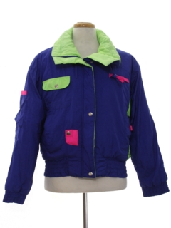 1980's Mens Totally 80s Style Ski Jacket