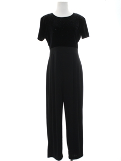 1990's Womens Wicked 90s Cocktail Jumpsuit