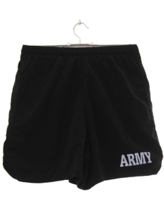1990's Mens Army Sport Shorts