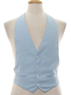 1970's Mens/Boys Tuxedo Vest