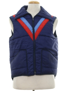 1980's Unisex Totally 80s Ski Vest Jacket
