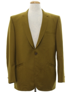 1960's Mens Mod Blazer Sport Coat Dinner Jacket