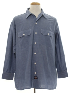 1990's Mens Chambray Work Shirt