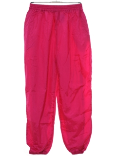 1980's Womens Totally 80s Baggy Track Pants
