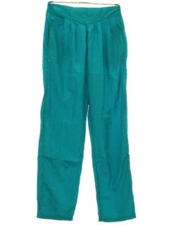 1990's Womens Totally 80s Style Baggy Track Pants