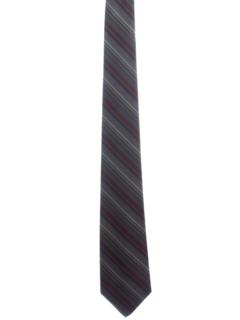 1960's Mens Mod Diagonal Necktie