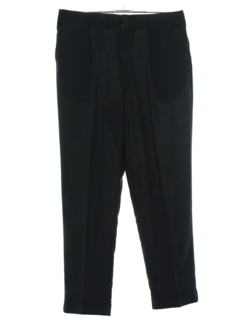 1960's Mens Mod Pleated Slacks Pants