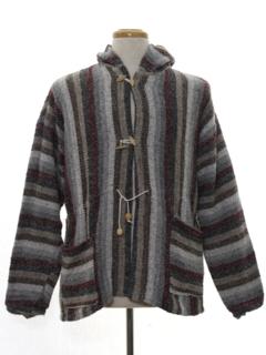 1990's Mens Baja Hippie Style Jacket