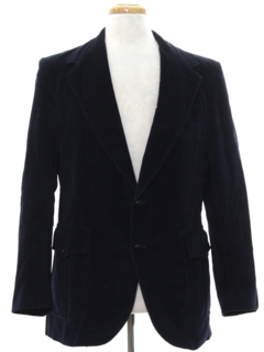 1970's Mens Corduroy Blazer Sport Coat Jacket