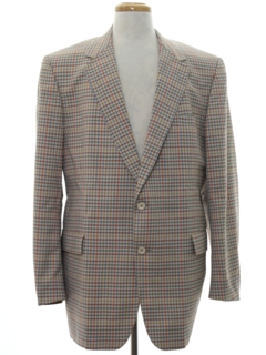 1970's Mens Blazer Sport Coat Golf Jacket