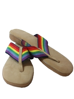 1980's Womens Accessories - Totally 80s Sandals Shoes