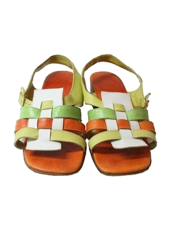 1960's Womens Accessories - Mod Sandals Shoes