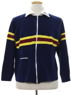 1980's Mens Rugby Style Track Jacket
