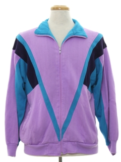 1980's Mens Totally 80s Style Track Jacket