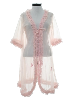 1960's Womens Peignoir Lingerie