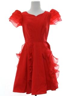1980's Womens Prom Dress