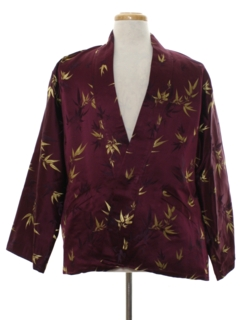 1980's Mens Smoking Jacket Style Robe