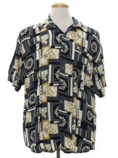 1980's Mens Graphic Print Totally 80s Shirt