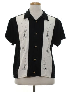 1980's Mens Totally 80s Club/Rave Shirt