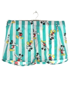 1960's Mens Mickey Mouse Boxer Shorts
