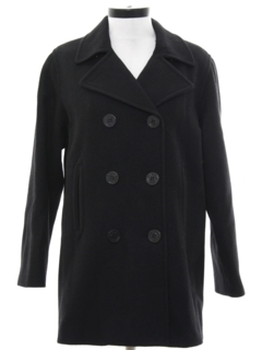 1970's Womens Pea Coat Jacket