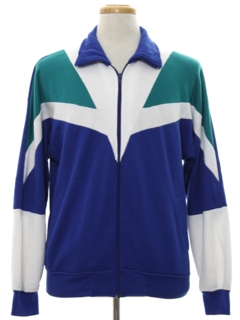 1980's Mens Totally 80s Olympic Track Jacket