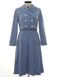 1960's Womens Two Piece Dress