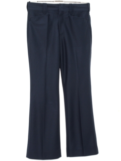 1970's Mens Mod Flared Western Style Leisure Pants