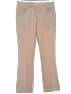 1960's Mens Mod Flared Leisure Pants