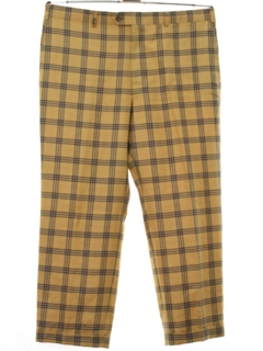 1960's Mens Mod Retro Style Burberry Designer Slacks Pants