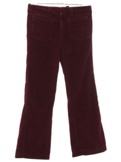 1960's Mens Flared Corduroy Pants