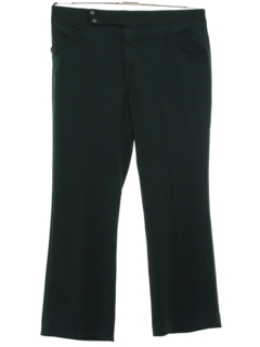 1970's Mens Mod Flared Leisure Pants